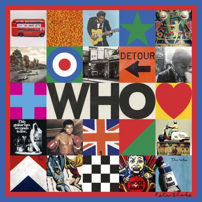 Pochette de l'album« Who», de The Who.