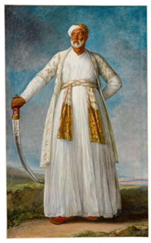 Portrait de Mohammed Dervish Khanpeint par Elisabeth Vigée-Lebrun.