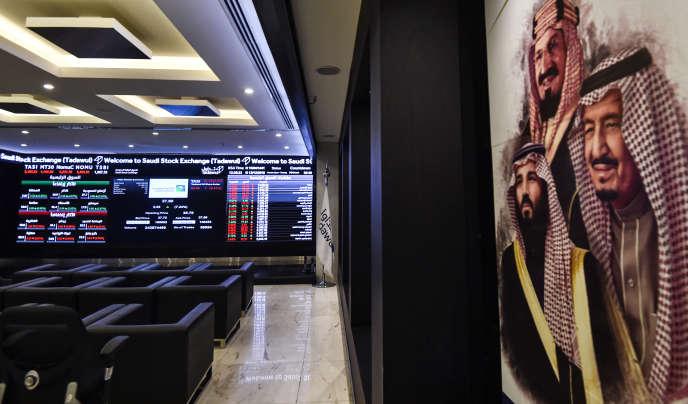 A la Bourse de Riyad, jeudi 12 décembre.