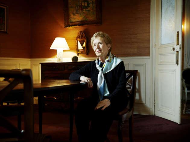 Michelle Perrot, à son domicile parisien, le 3 décembre.