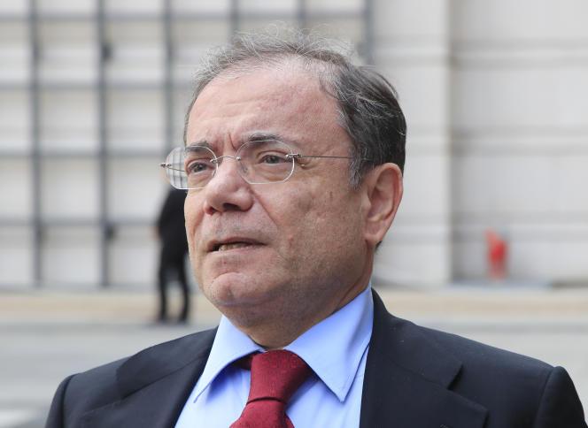 Jean-Charles Naouri, PDG de Casino, le 5 septembre, à Paris.