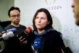 La ministre des sports Roxana Maracineanu