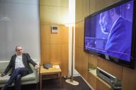 Laurent Berger à France Télévisions, le 11 décembre. Le secrétaire général de la CFDT était l'invité du «20 Heures» de France 2.