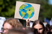 Une manifestation pour le climat à Munich, en Allemagne, le 20 septembre 2019.