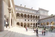 Vue du projet du développeur immobilier Novaxia pour rénover l'Hôtel-Dieu, à Paris.