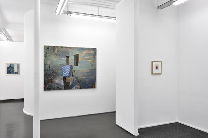 Vue de l'exposition collective « Cut & Paste Chapitre 2 ».