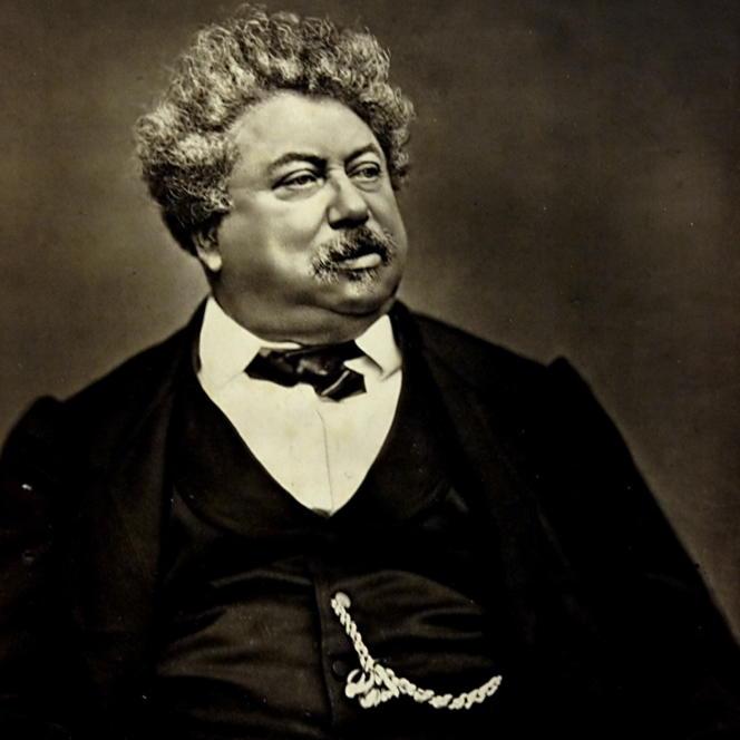 Alexandre Dumas photgraphié par Carjat.