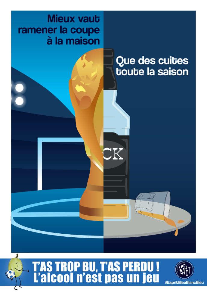 #tastropbutasperdu : un petit club de foot du Maine-et-Loire s'engage contre les dangers de l'alcool