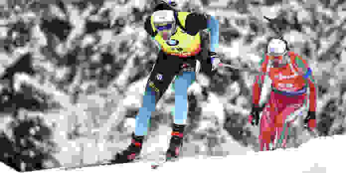 Coupe du monde de biathlon en direct : Martin Fourcade distancé, Simon Desthieux bien placé