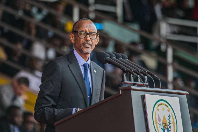 Le président rwandais, Paul Kagame, à Kigali, le 4juillet 2019.