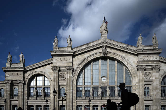 La façade de la gare du Nord, à Paris, le 10octobre.