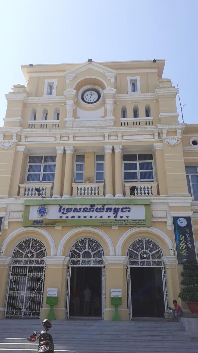 Poste centrale de Phnom Penh.