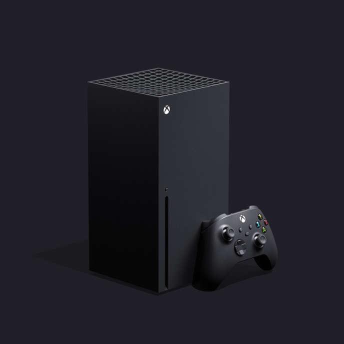 La console Xbox Series X, dévoilée par Microsoft jeudi 12 décembre.