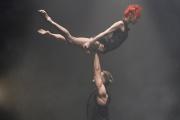 Les artistes Céline Cassone et Alexander Hille dans« Dance Me/Leonard Cohen».
