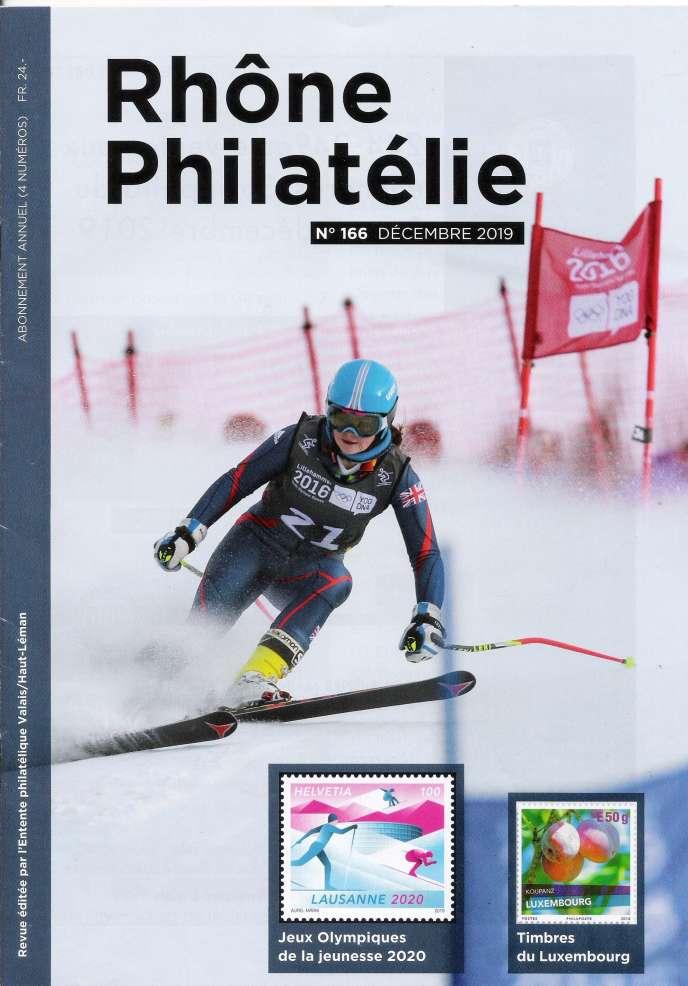 « Rhône Philatélie», décembre 2019, 48 pages.