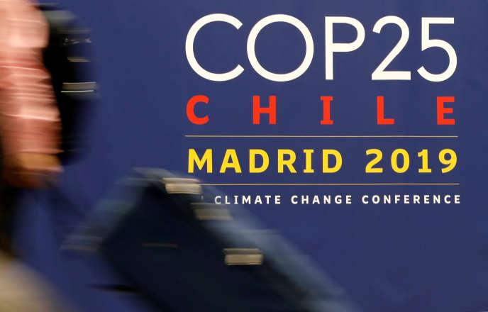 Lors de la dernière session plénière de la COP25, dimanche 15 décembre à Madrid.