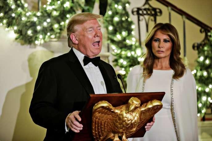 Le président américain Donald Trump, le 12 décembre, à Washington.