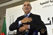 Le nouveau président algérien, Abdelmadjid Tebboune, à Alger, le 13 décembre.