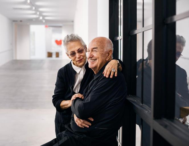 Mera et Don Rubell dans leur nouveau musée de Miami (Floride), le 16 novembre.