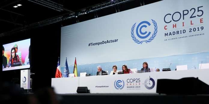 Climat : la COP25 s'achève par un accord dépourvu d'avancées globales significatives