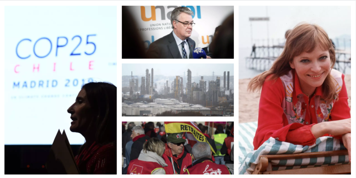 Delevoye, Anna Karina, COP 25… Les cinq infos à retenir du week-end