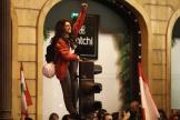 Manifestation antigouvernementale près du Parlement, dans le centre de Beyrouth, le 15 décembre.