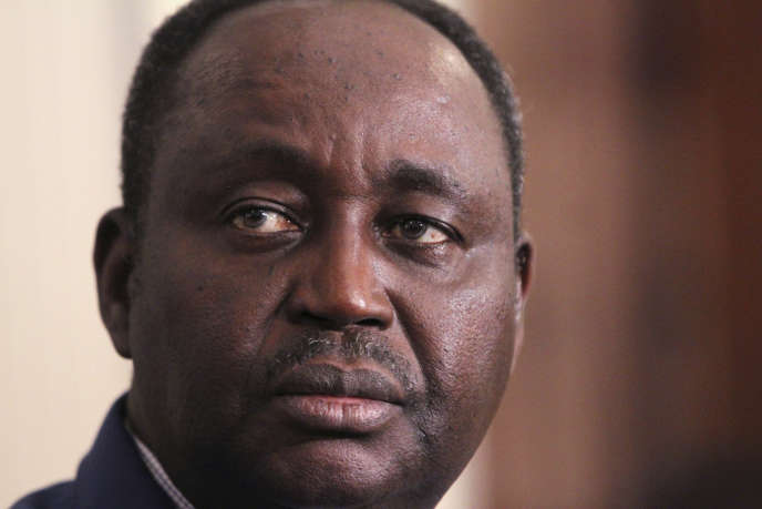 L'ancien président centrafricain François Bozizé à Bangui, en janvier 2013.
