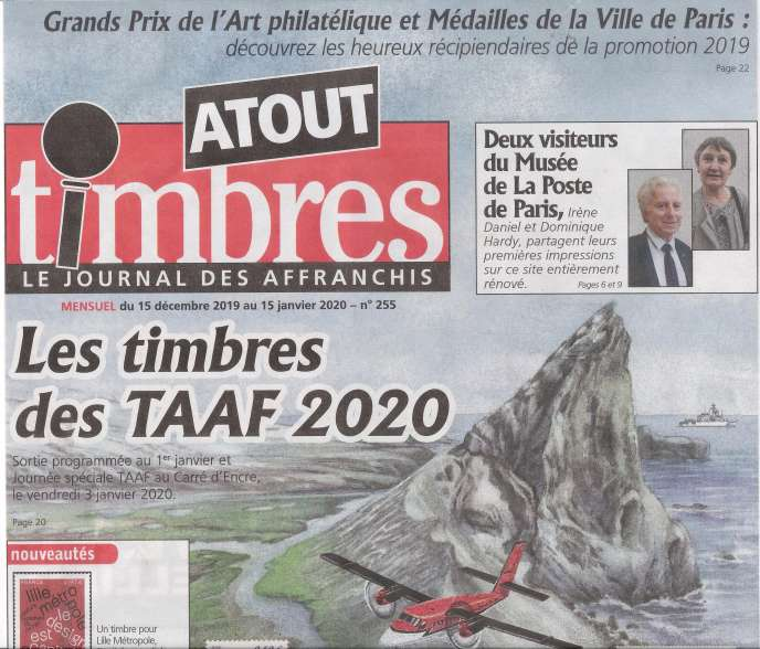 « Atout timbres », 32 pages, 2,20 euros