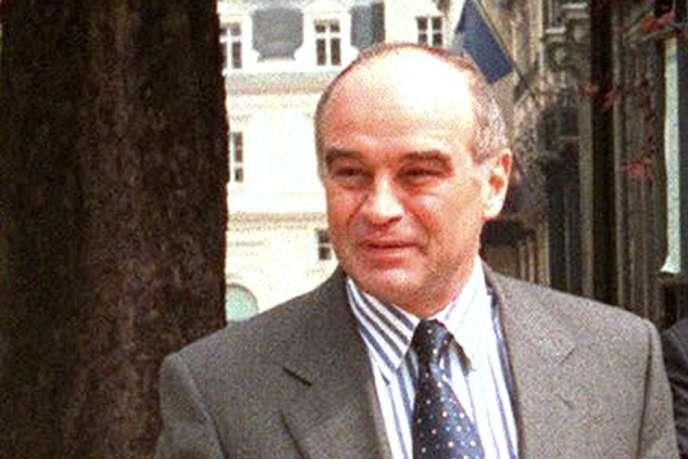 L'ancien directeur de cabinet de Jacques Chirac, Bertrand Landrieu, à Paris, en mai 1998.