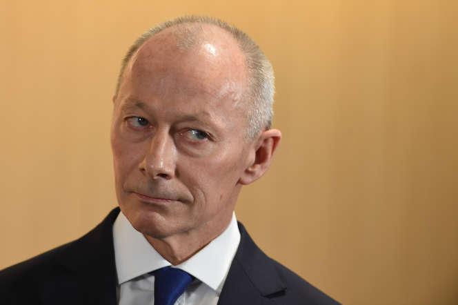 L'ex-directeur général de Renault, Thierry Bolloré, le 24 janvier à Boulogne-Billancourt.
