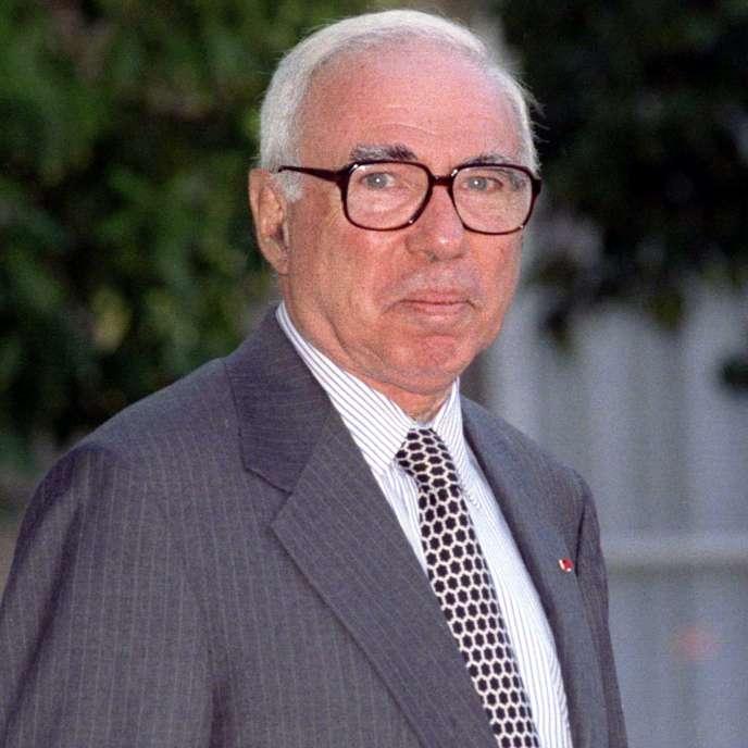 Felix Rohatyn, à l'Elysée, à Paris, en 1997.