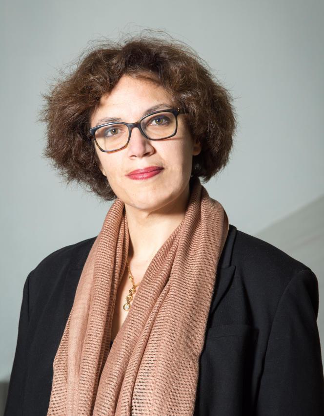 Emilie Delorme, en décembre, au Conservatoire national supérieur de musique et de danse de Paris.