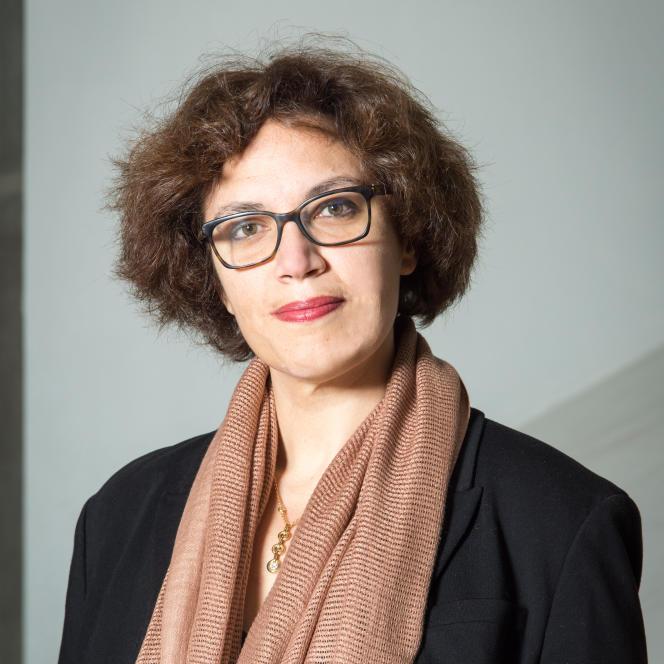 Emilie Delorme, en décembre 2019, au Conservatoire national supérieur de musique et de danse de Paris (CNSMDP).