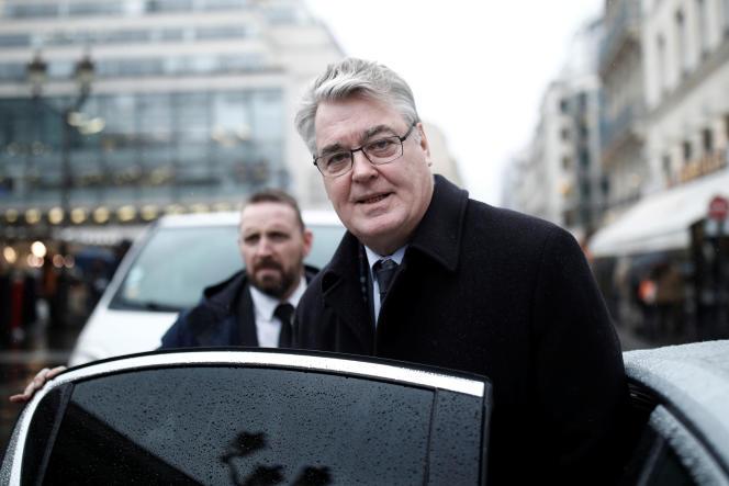 Jean-Paul Delevoye, le 6 décembre à Paris.