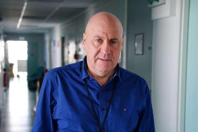 Professeur Philippe Roingeard, en 2018 à l'école de médecine de Tours.
