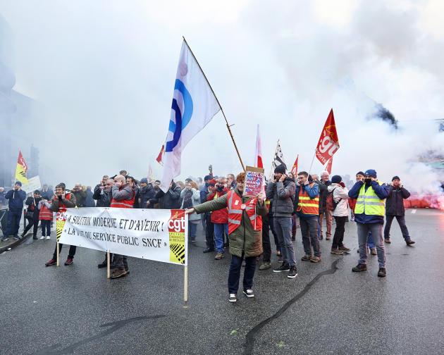 A Rennes, les manifestants se regroupent en centre-ville.