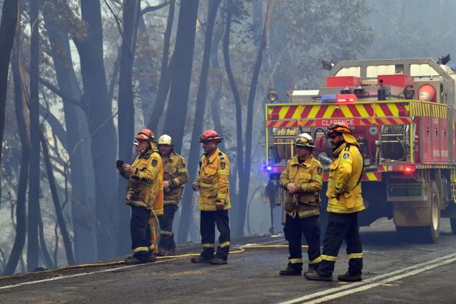 A Dargan, à environ 130 kilomètres au nord ouest de Sydney, en Australie, le 18décembre.