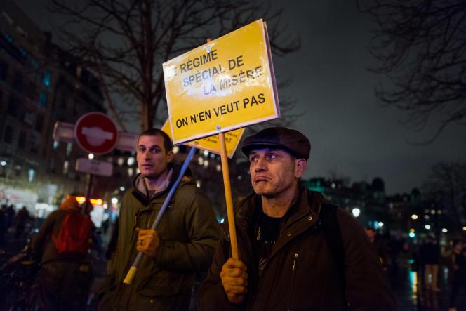 Le 17 décembre à Paris.
