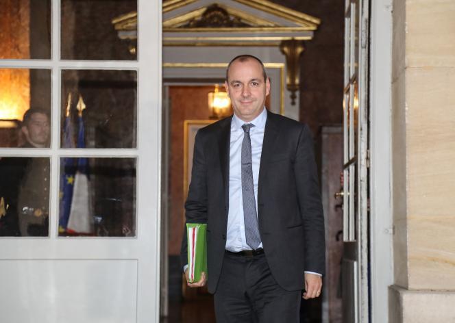 Le numéro un de la CFDT, Laurent Berger, à son arrivée à Matignon pour rencontrer Edouard Philippe, le 18 décembre.