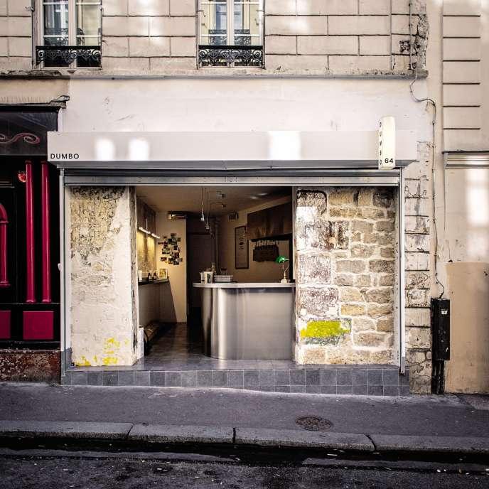 La façade de Dumbo, dans le 9e arrondissement, à Paris.