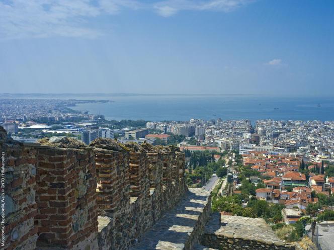Thessalonique a des faux airs de Marseille.