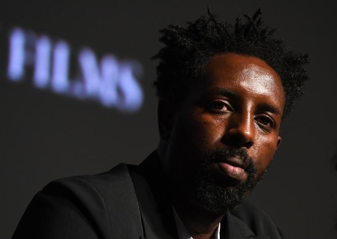 Ladj Ly lors de la présentation du film « Les Misérables», au Festival du film français (COLCOA) à Los Angeles, le 23 septembre.