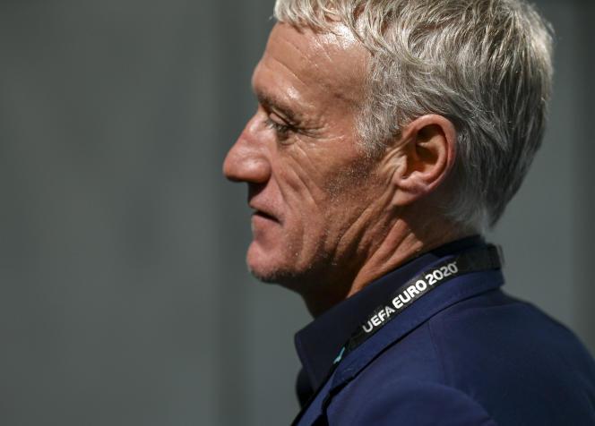 Didier Deschamps, le 30 novembre, à Bucarest.