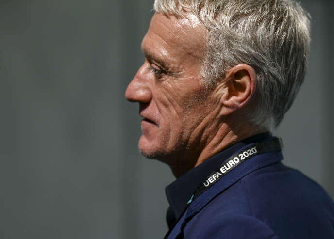 Didier Deschamps, le 30 novembre, à Bucarest.