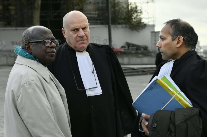 Le Rwandais Fabien Neretsé (à gauche), à Bruxelles, le 4 novembre 2019.