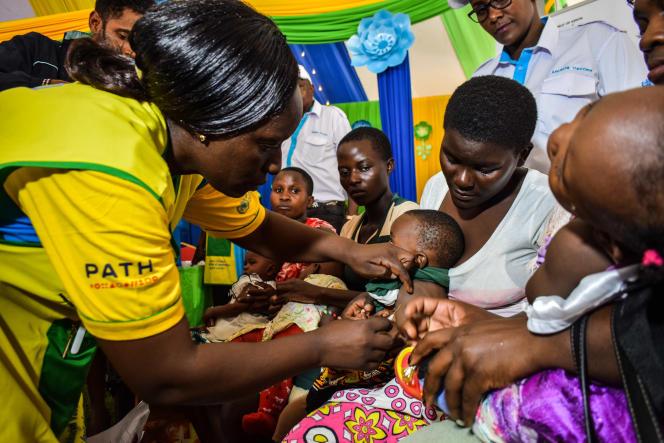 Campagne de vaccination au Kenya le 13 septembre 2019.