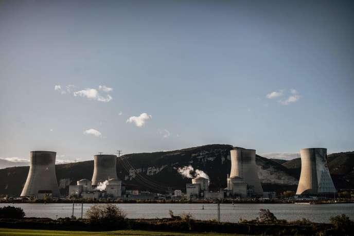 La centrale nucléaire de Cruas, en Ardèche,le 12 novembre.
