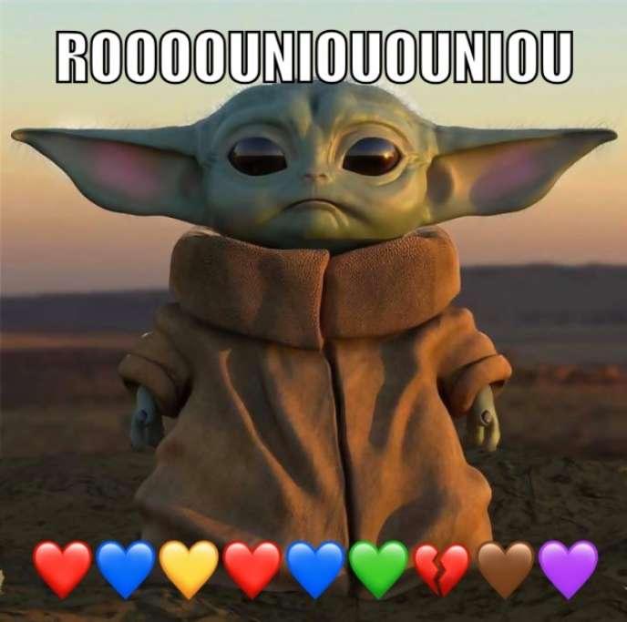 Baby Yoda, alias «The Child», personnage de la série «Mandalorian», en diffusion au printemps 2020 sur Disney+.