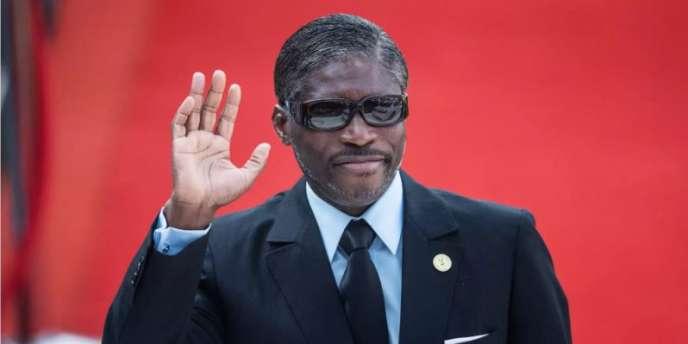 Le vice-président équato-guinéen Teodoro Nguema Obiang à Pretoria, en Afrique du Sud, le 25 mai 2019.