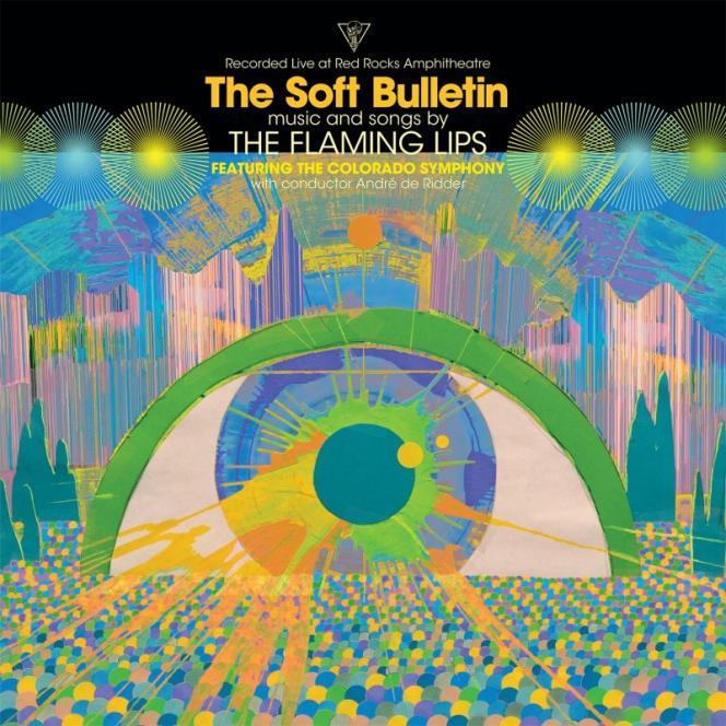 Pochette de l'album«The Soft Bulletin Live at Red Rocks Amphitheatre», de The Flaming Lips.